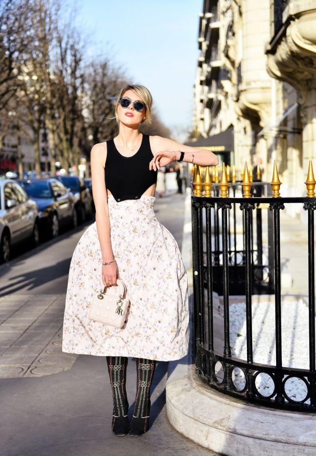 Bag at You - Sophie Valkiers Fashionata - Paris FashionWeek - Dior bag