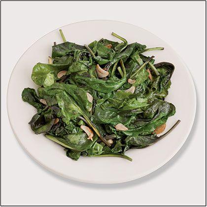 Sauteed Baby Beet Greens Recipe   MyRecipes