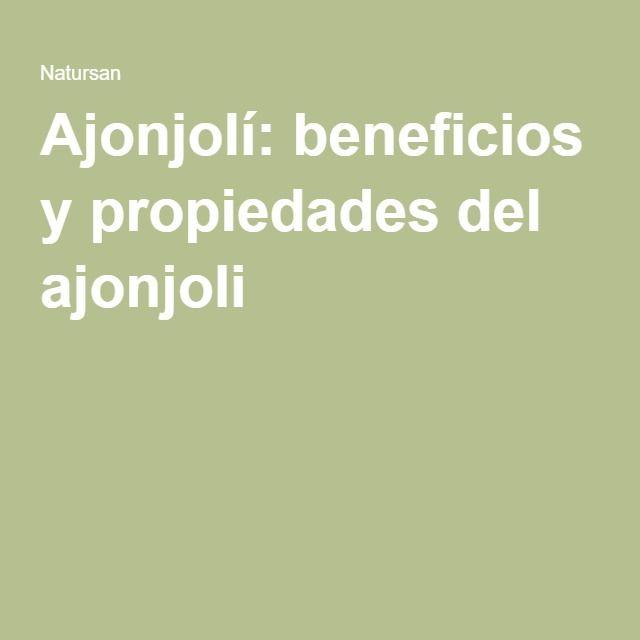 Ajonjolí: beneficios y propiedades del ajonjoli