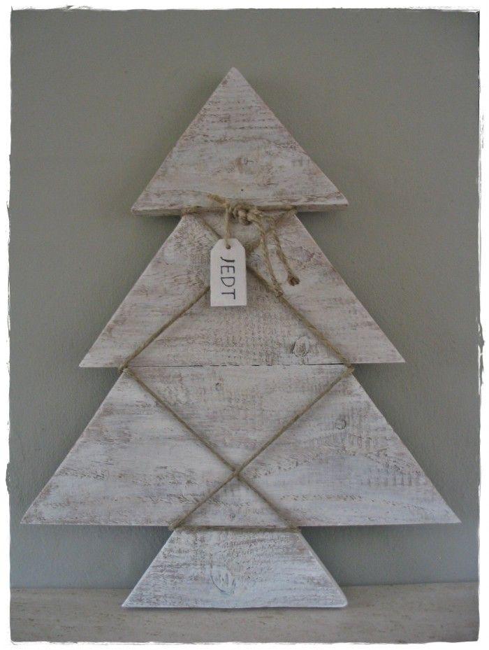 10 beste idee n over kerst houten borden op pinterest for Boomschijven decoratie