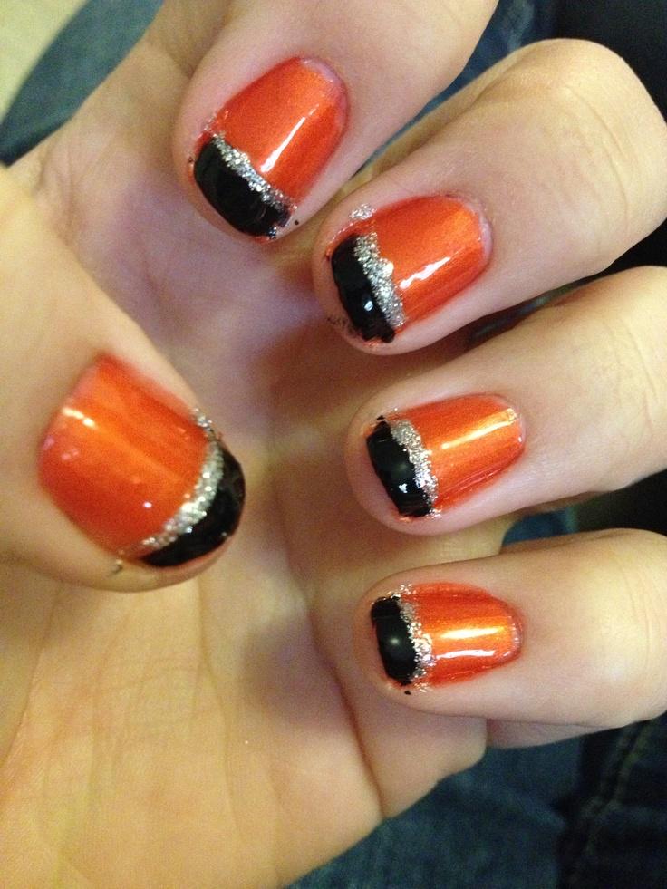 Halloween nails. | Nailed it | Pinterest