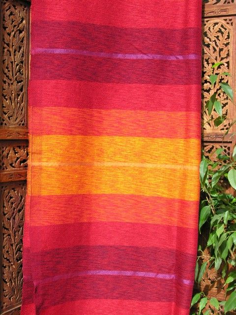 Moroccan silk and chenille throw in shades of oranges. http://www.maroque.co.uk/showitem.aspx?id=ENT05859&p=00741