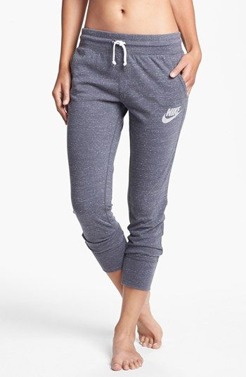 Nike 'Gym Vintage' Capri Pants available at #Nordstrom  My fav lounge pants.