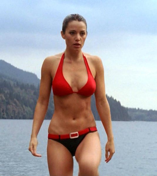 What Erica durance bikini look
