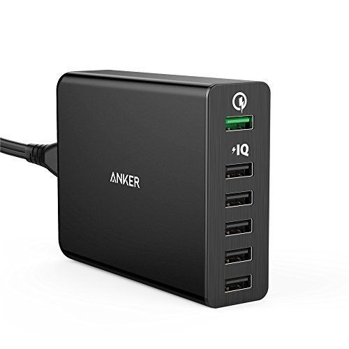 Amazon.com: Quick Charge 2.0, Anker 60W 6-Port USB Charger PowerPort+ 6 for Galaxy S7/S6/Edge/Plus, Note 4/5, LG G4, HTC One M8/M9, Nexus 6, iPhone, iPad and More: AnkerDirect