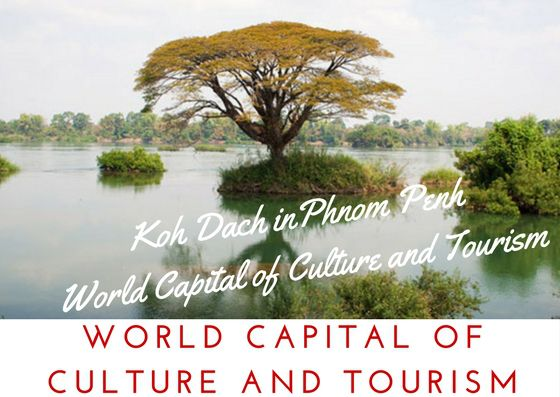 The European Council on Tourism and Trade World Tourism Institution has decided to inscribe Phnom Penh on the WORLD CAPITAL OF CULTURE AND TOURISM list. From December 9, 2017 the capital of Kingdom of Cambodia Phnom Penh is the humanity protected and recognised WORLD CAPITAL OF CULTURE AND TOURISM.