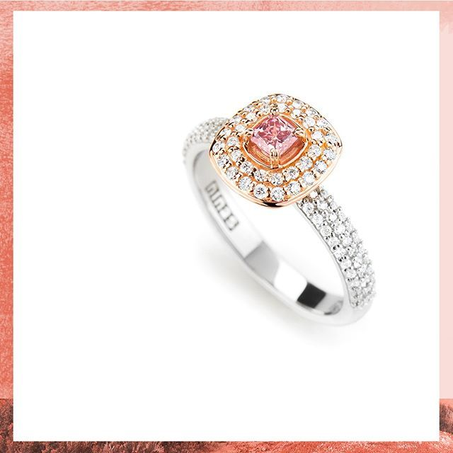 Sweet Ambrosia The Argyle Pink Diamond Ring Inspired By