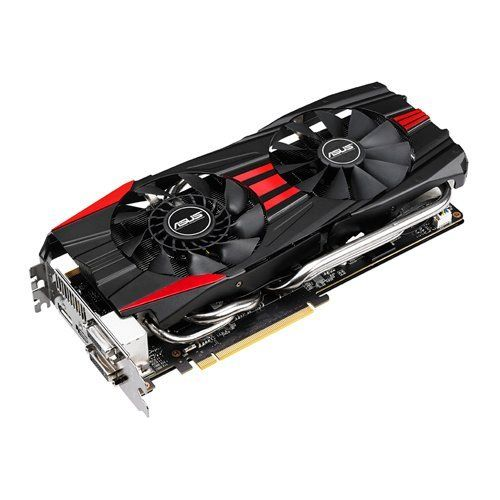 ASUS Direct CU II Thermal Design with Direct-GPU Contact 10mm Copper Heat Pipe Graphics Card GTX780-DC2OC-3GD5