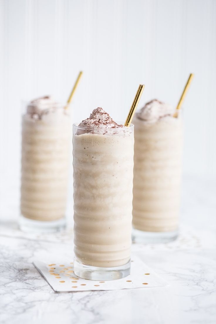 A boozy Irish coffee milkshake perfect for St. Patrick's Day! Make them for your friends and they'll love you even more - recipe at The Sweetest Occasion!