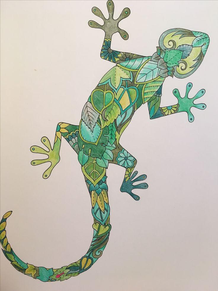 Joanna Basford Gecko
