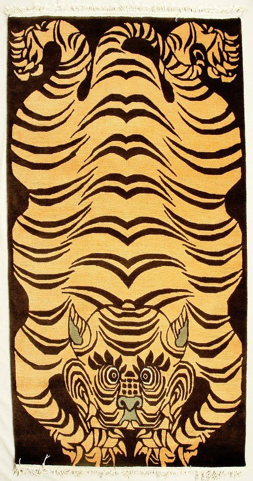 Best 25 Tiger Rug Ideas On Pinterest Tibetan Rugs Folk