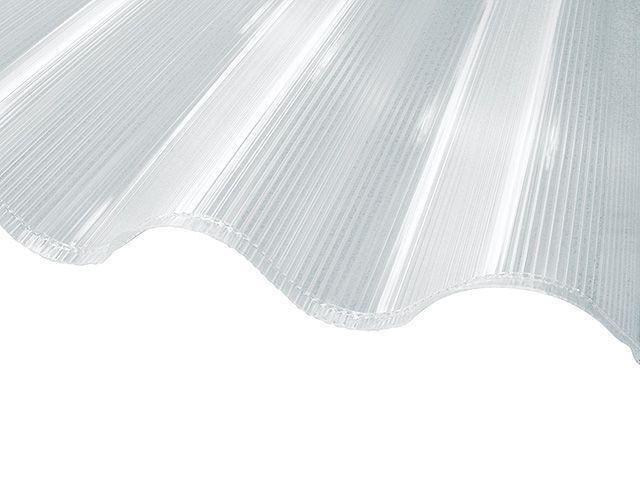Plaque polycarbonate alvéolaire Multi onda 152 x 92 cm - CASTORAMA