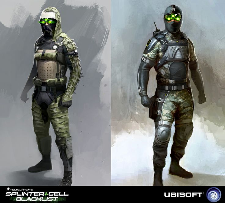 spies concepts splinter cell blacklist concept art for spies created for splinter cell - Splinter Cell Halloween Costume