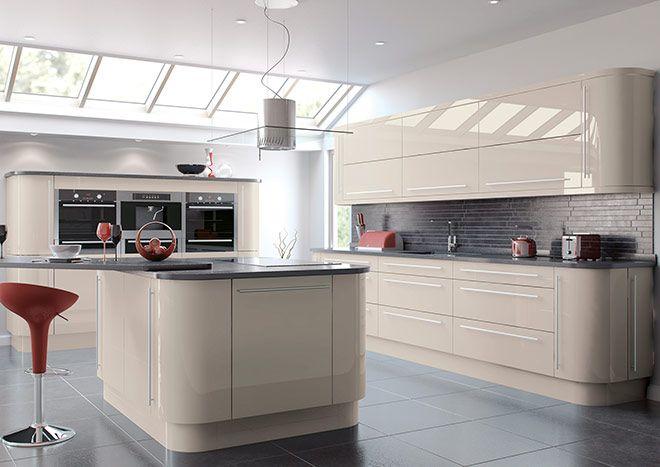 Deluxe Replacement Kitchen Cabinet Shaker Doors /& Drawers Cartmel Mussel