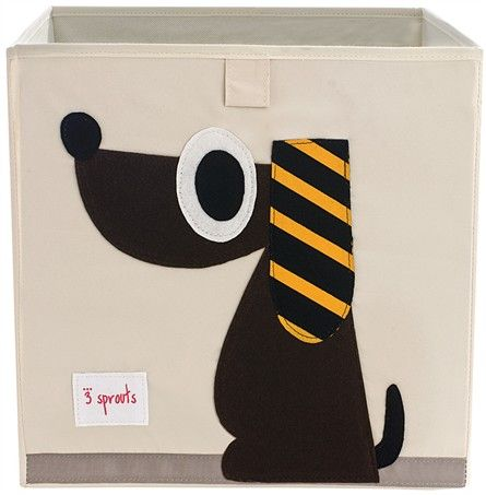 @rosenberryrooms is offering $20 OFF your purchase! Share the news and save! (*Minimum purchase required.) 3 Sprouts Dog Canvas Storage Box #rosenberryrooms