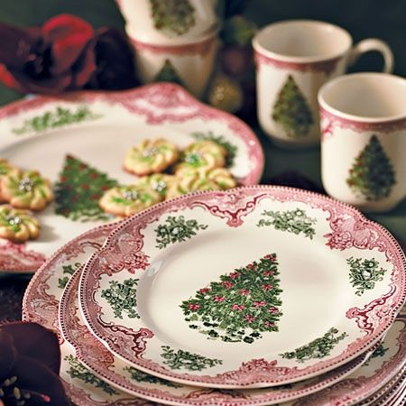 Starting my new Christmas dish collection - Johnson Brothers English Castle Christmas