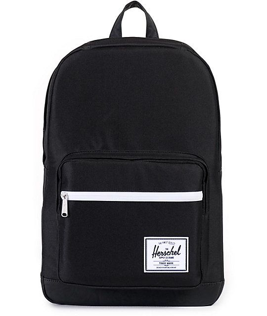 With a ton of pockets and a large volume main compartment, the Pop Quiz backpack from Herschel Supply Co. is perfect for any occasion. Whether needing more room for books or adventure supplies, this 22 liter backpack features a water sealed front pocket,