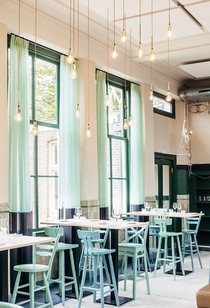 Restaurant Huis Roodenburch Dordrecht. Interieurontwerpers Jolanda Branderhorst & Esther Canisius.