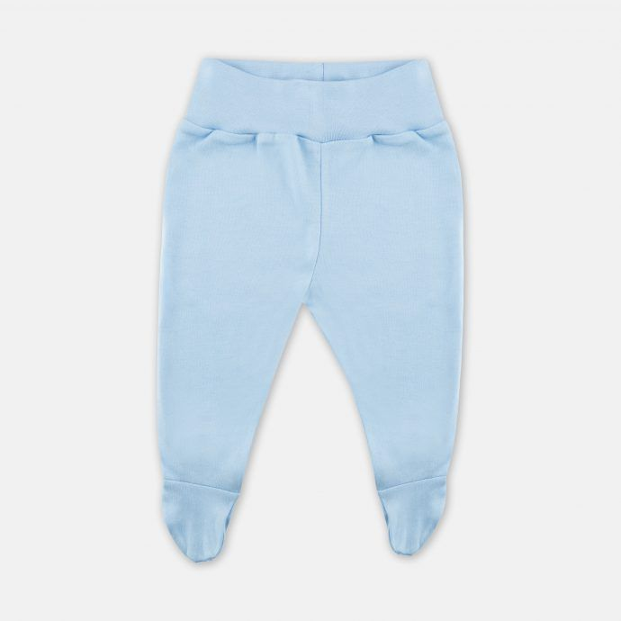 spodnie stopy błękitne