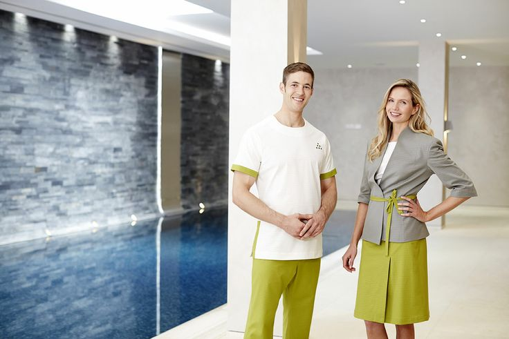 American spa magazine fashionizer couture uniforms for Hotel uniform spa