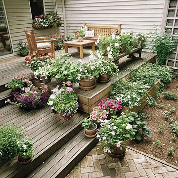 Deck Garden Ideas best 25 outdoor decking ideas on pinterest Landscaping Isnt Just For Your Yard Add Beautiful Plants To Your Deck
