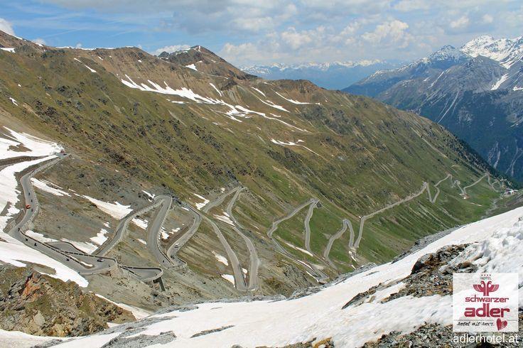 Motorradurlaub in Südtirol Stilfser Joch, Nauders am Reschenpass