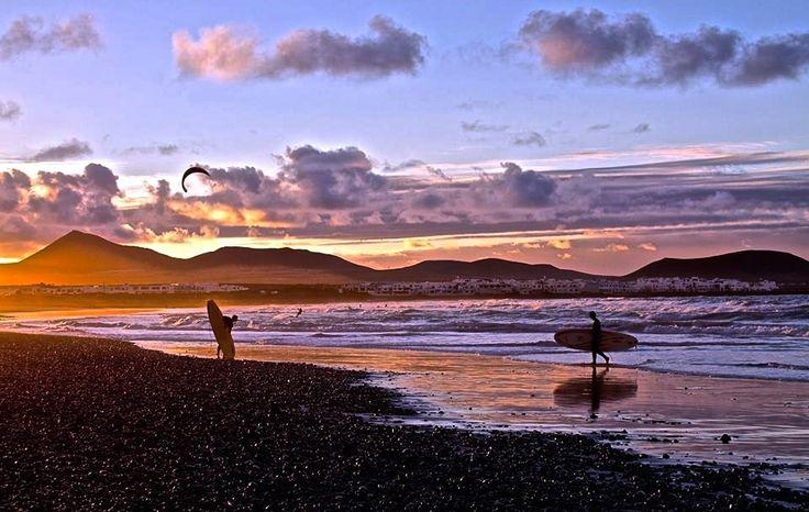 Es lo que tiene #Canarias, sol todo el año para poder disfrutar del mar - Foto de Davinia Luzardo