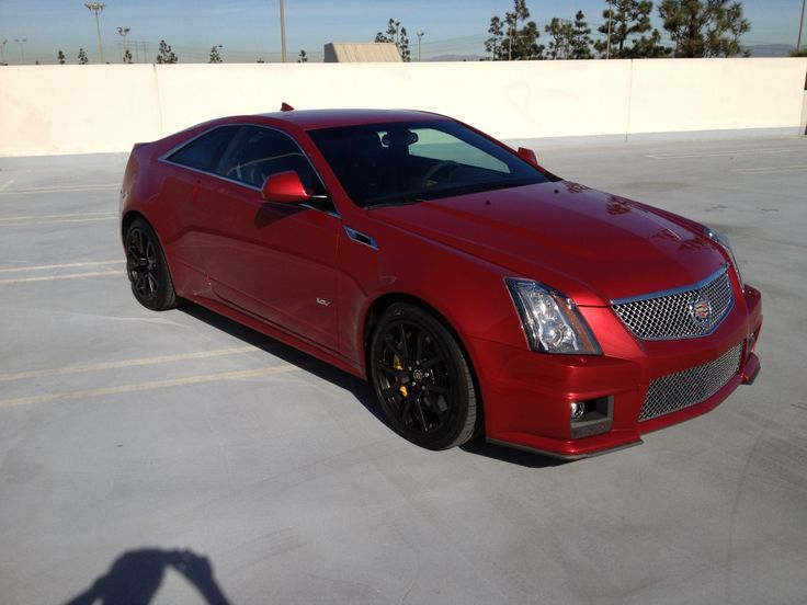 #Cadillac CTS-V Coupe 2012 #Carros