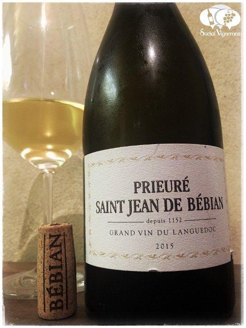 Score 92/100 Wine review, tasting notes, rating of Prieuré Saint Jean de Bébian Blanc, Languedoc. Description of aroma, palate, flavors. Join the experience.