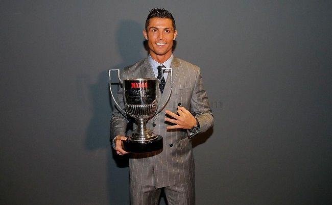 Kolejna nagroda dla piłkarza Realu Madryt • Cristiano Ronaldo otrzymał trofeum Pichichiego za króla strzelców La Liga • Zobacz >> #ronaldo #cristianoronaldo #real #realmadrid #laliga #ligabbva #football #soccer #sports #pilkanozna
