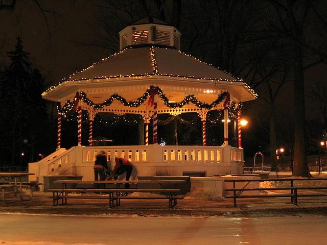Gage Park Gazebo in Brampton, Ontario Canada