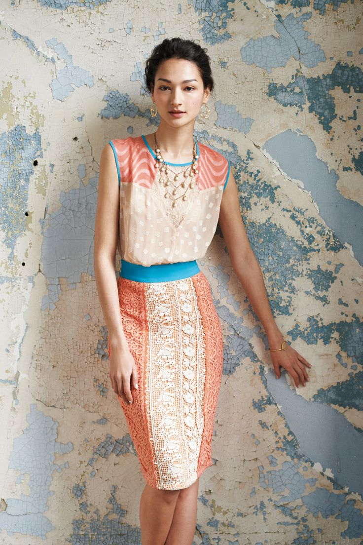 Classic and colorful. Perfect MOB dress