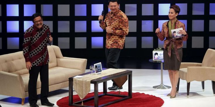 """Ahok dan Djarot Ceritakan Alasan Mereka Saling """"Jatuh Cinta"""" - Kompas.com"""