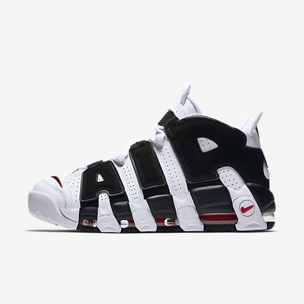 innovative design 64f51 6a0fc ... nike air more uptempo herrenschuh weiß lpu sneaker sneakers