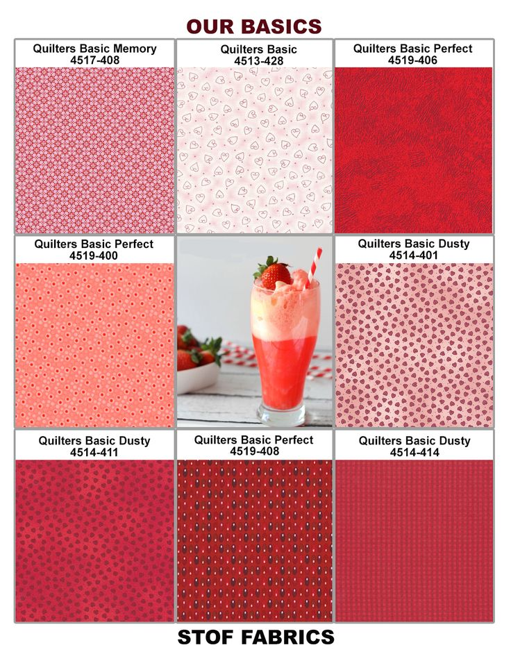 Strawberry Ice Plate (2015 Pantone Spring Color) with Stof Basic Collections.