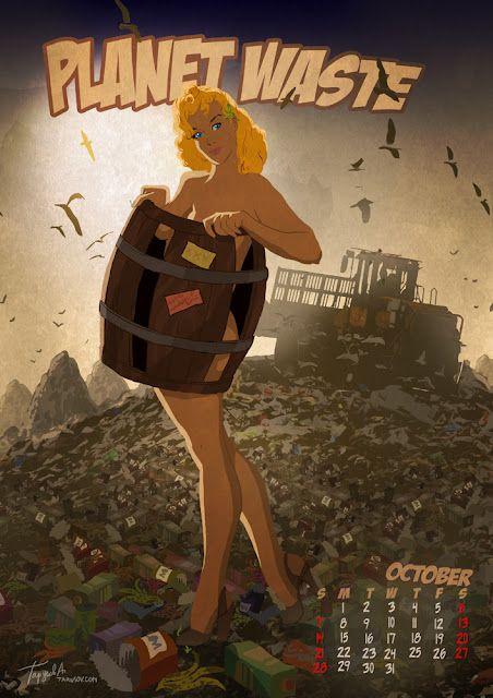 Planet waste