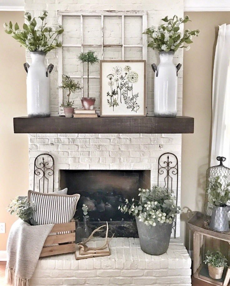 47 Fireplace Designs Ideas: 791 Best Mantles Images On Pinterest