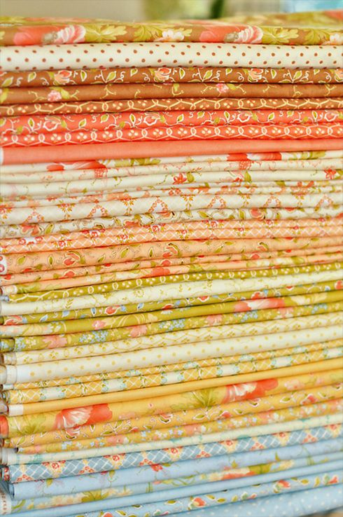 Buttercup fabrics by Fig Tree Quilts