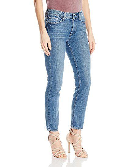 PAIGE Women's Jaqueline Straight Jeans-Owen