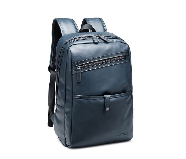 "brand men Backpacks Genuine Leather fashion bag women backpack 14"" school Laptop bag travel men's backpacks men bags"