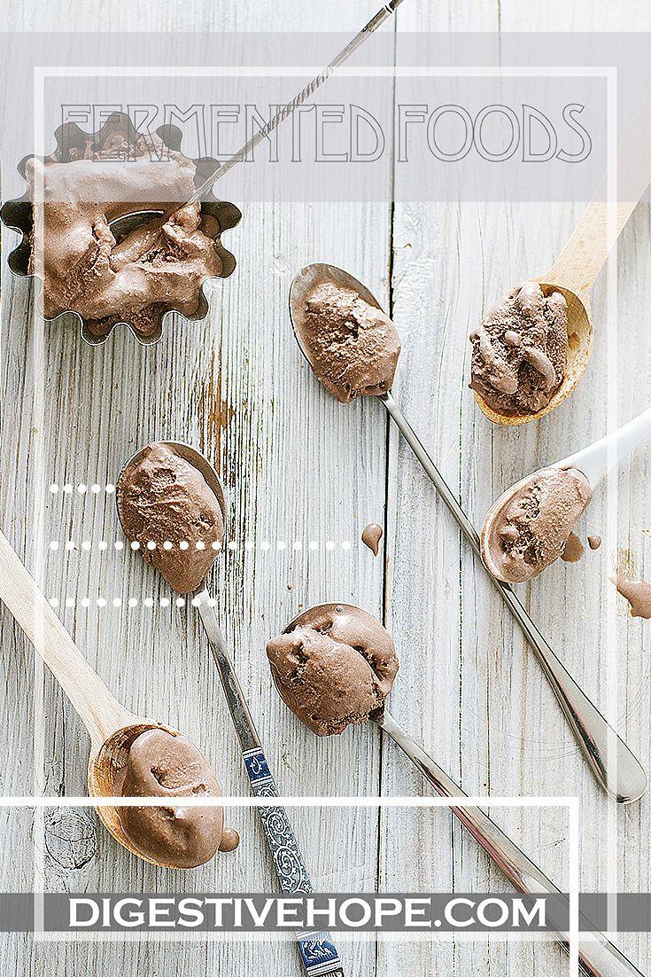 Chocolate   Kefir Ice-cream - Fermented Food Recipes www.digestivehope.com