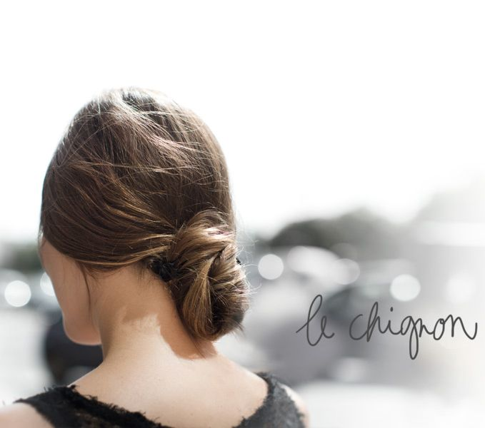 Find your style / Le Chignon