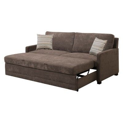 Serta Shelby Convertible Sofa Brown | Products in 2019 ...