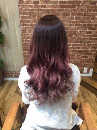 はろろろん今週わ髪染めたりネイルしたり美容DAYだったかなNewHairピンクグラデーション紫っぽいのも入ってんのかな??グ...|初心者でも簡単無料!ブログを作るなら CROOZ blog
