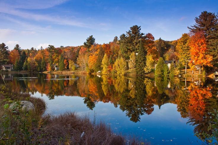 Desnoyers Lake, Saint-Calixte, Québec, Canada