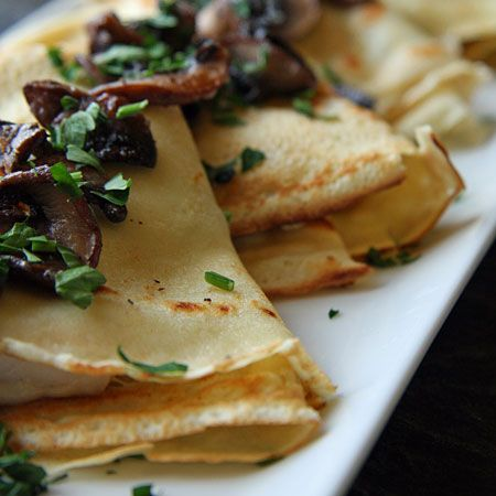 Chicken Mushroom Crepes My image  I'm old enough to remember piling into Dad's powder-blue Checker Marathon to head to the local mall for...