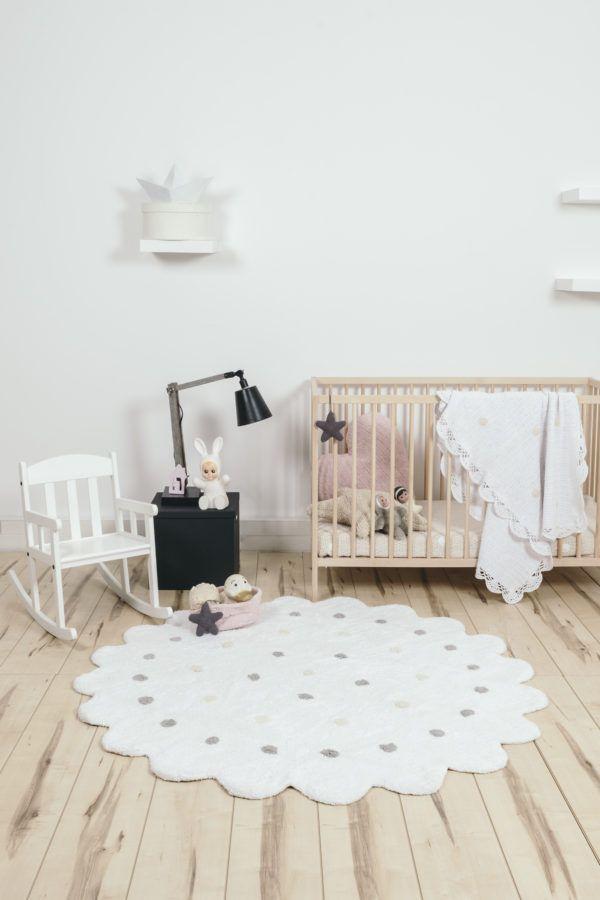 Lorena Cs Little Biscuit White Rug Nursery Rugs In