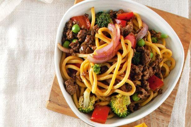 Sweet chilli beef stir-fry main image