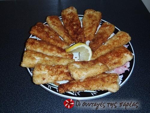 Fish-sticks (Μπακαλιάρος πανέ) #sintagespareas