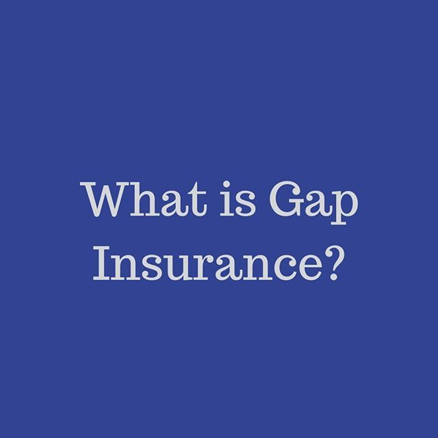 Gap Insurance Provides Protection For You And Your Lender In The